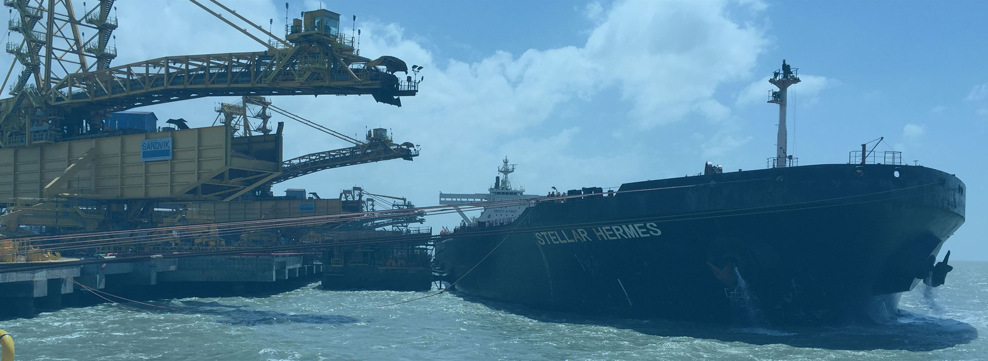 Brazil's largest iron ore terminal