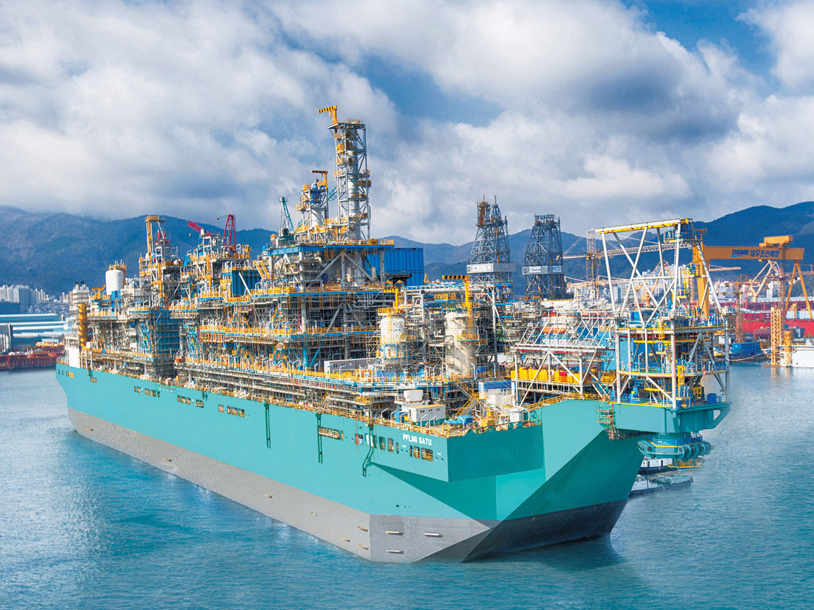 Units for the Offshore LNG Giants