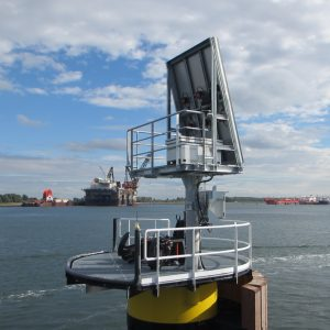 Quick Release Mooring Hooks with integrated Solar Panel System