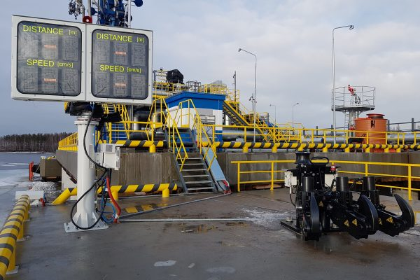 Berthing Approach System and Quick Release Mooring Unit